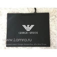 Брендовый пакет Giorgio Armani бол. 43 х 34 х 15 см