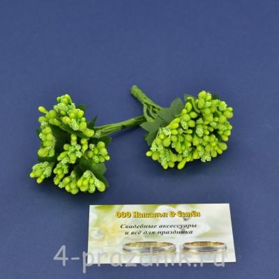 Мини букетик салатовый mibuk007 оптом