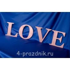 Деревянные буквы LOVE розовые 1947-roz
