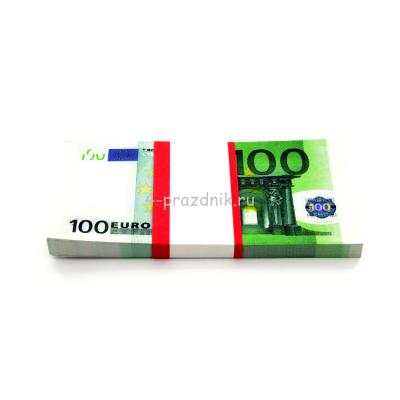 Деньги для выкупа 100 евро на свадьбу