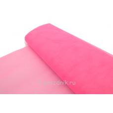 Фатин в рулоне-сетка розовый