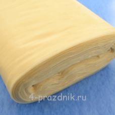 Фатин мЯгкий в рулоне золотистый  fat019