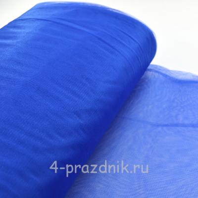 Фатин мЯгкий в рулоне синий fat024