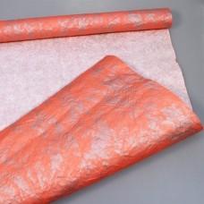 Бумага жатая Делюкс Польша персиковый  в рулоне 70см*5м 20рул/тм 75522