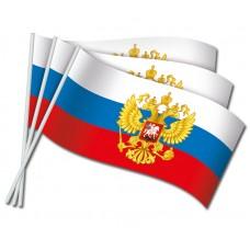 Флажки оформительские (Российская символика)