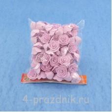 Цветы латексные размер №1, бледно-сиреневые latex017