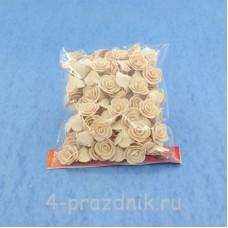Цветы латексные размер №1, цвет: капучино latex018