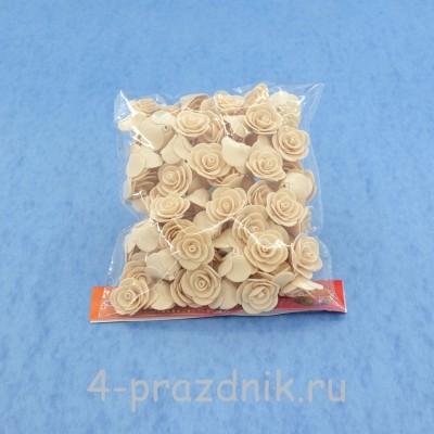Цветы латексные размер №1, цвет: капучино latex018 оптом