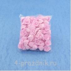 Цветы латексные размер №1, нежно розовые latex020