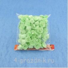 Цветы латексные размер №1, цвет: мята latex021