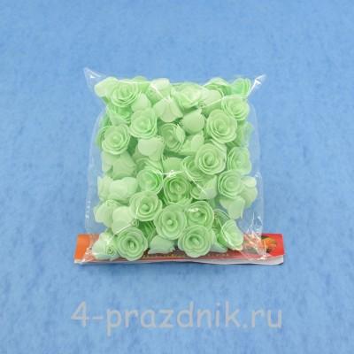 Цветы латексные размер №1, цвет: мята latex021 оптом
