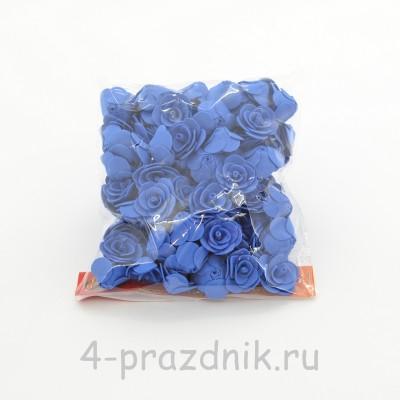 Цветы латексные размер №1, темно-синие latex024 оптом
