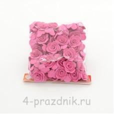 Цветы латексные размер №1, цвета фуксия latex027