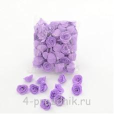 Цветы латексные размер №1, сиреневые latex028