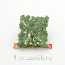 Цветы латексные размер №1, темно-зеленые latex030