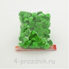 Цветы латексные размер №1, зеленые latex032