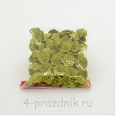 Цветы латексные размер №1, цвета хаки latex033
