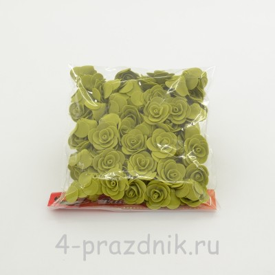 Цветы латексные размер №1, цвета хаки latex033 оптом