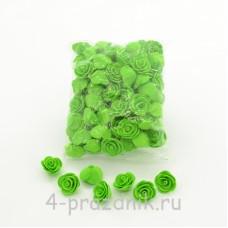 Цветы латексные размер №1, светло-зеленые latex034