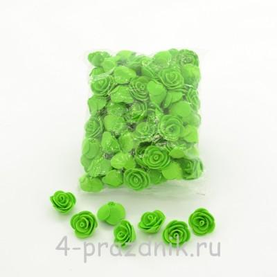 Цветы латексные размер №1, светло-зеленые latex034 оптом