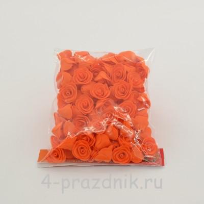 Цветы латексные размер №1, оранжевые latex036 оптом