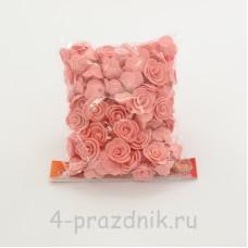Цветы латексные размер №1, персикового цвета latex038