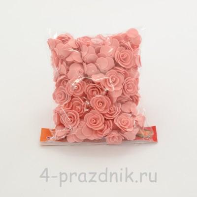 Цветы латексные размер №1, персикового цвета latex038 оптом