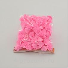 Цветы латексные размер №1, ярко-розовые latex039