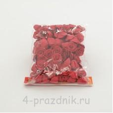 Цветы латексные размер №1, красные latex040