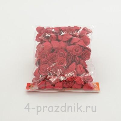 Цветы латексные размер №1, красные latex040 оптом