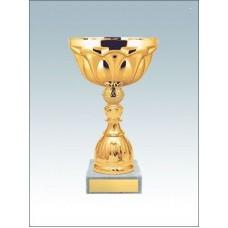 Кубок KM1588f с чашей высота 18.5 см medali-km1588f