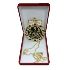 """Медаль со стразами в коробочке """"Деревянная свадьба"""" medali-26674550"""