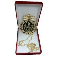 """Медаль со стразами в коробочке """"Чугунная свадьба"""" medali-26674748"""