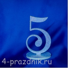 Нумерация праздничных столов в голубом исполнении (от 1-до8) 1883-gol