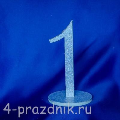 Нумерация праздничных столов в голубом исполнении (от 1-до8) 1883-gol оптом