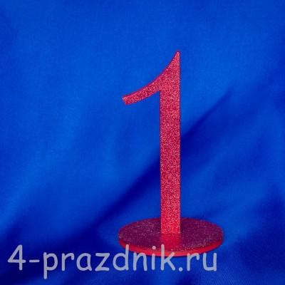 Нумерация праздничных столов в красном исполнении (от 1-до8) 1883-kr оптом