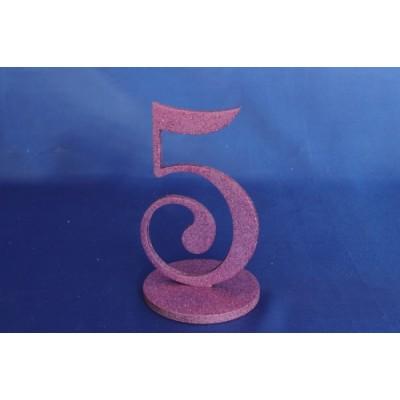 Нумерация праздничных столов в розовом исполнении (от 1-до8) 1883-roz оптом