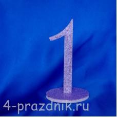 Нумерация праздничных столов в сиреневом исполнении (от 1-до8) 1883-sir