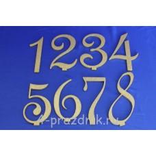 Нумерация праздничных столов в золотом исполнении (от 1-до8) 1883-zol