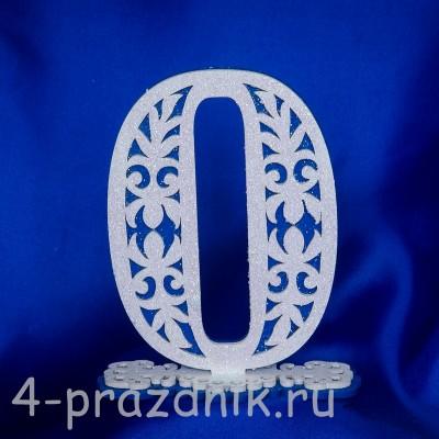 Нумерация праздничных столов в синем исполнении (от 0-до9) 1884-sin оптом