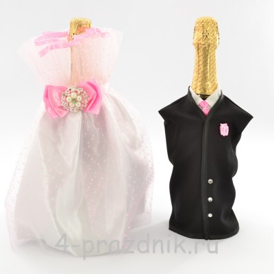 Одежда на шампанское розовая  sam035 оптом
