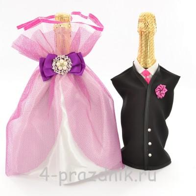 Одежда на шампанское вишневая sam039 оптом