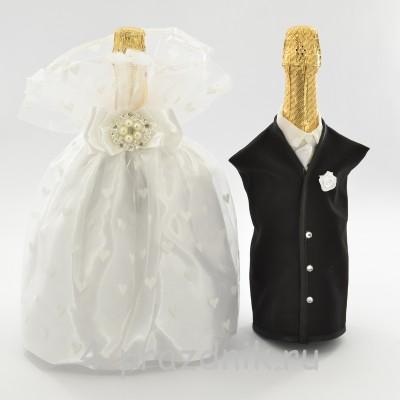 Одежда на шампанское белая sam041 оптом