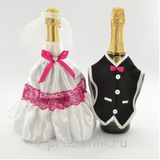 Одежда на шампанскоемалинового цвета sam047