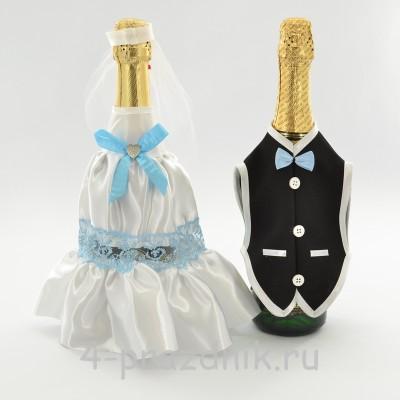 Одежда на шампанскоеголубого цвета sam049 оптом