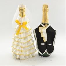 Одежда на шампанскоежелтого цвета sam054