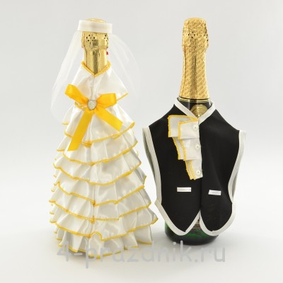 Одежда на шампанскоежелтого цвета sam054 оптом
