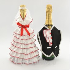 Одежда на шампанскоекрасного цвета sam056