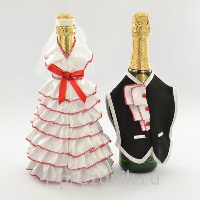 Одежда на шампанскоекрасного цвета sam056 оптом