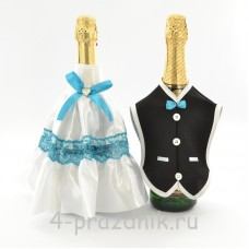 Одежда на шампанскоебирюзового цвета sam061